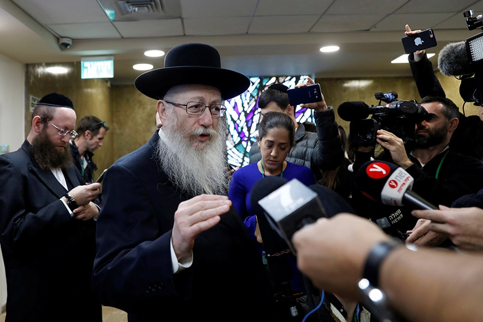 Haredi Minister Litzman resigns, Netanyahu to take over Health Ministry