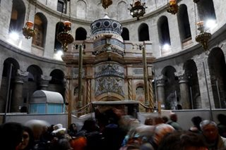 New tests at Jesus' presumed tomb back traditional beliefs