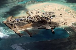 China construction continues in disputed sea: think tank