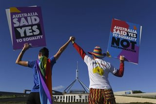 Australia celebrates 'day for love', allows same-sex marriage