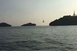 Ikatlong zipline sa Hundred Islands, bukas na sa publiko