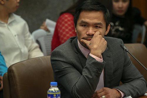 Ex-BI officials lying in Jack Lam case: Pacquiao