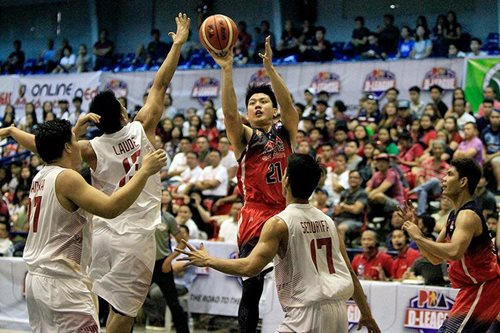 Jeron nets 42 in D-League debut, leads AMA past Batangas