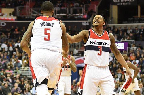 NBA: Hot Wizards stretch home win streak to 15 games