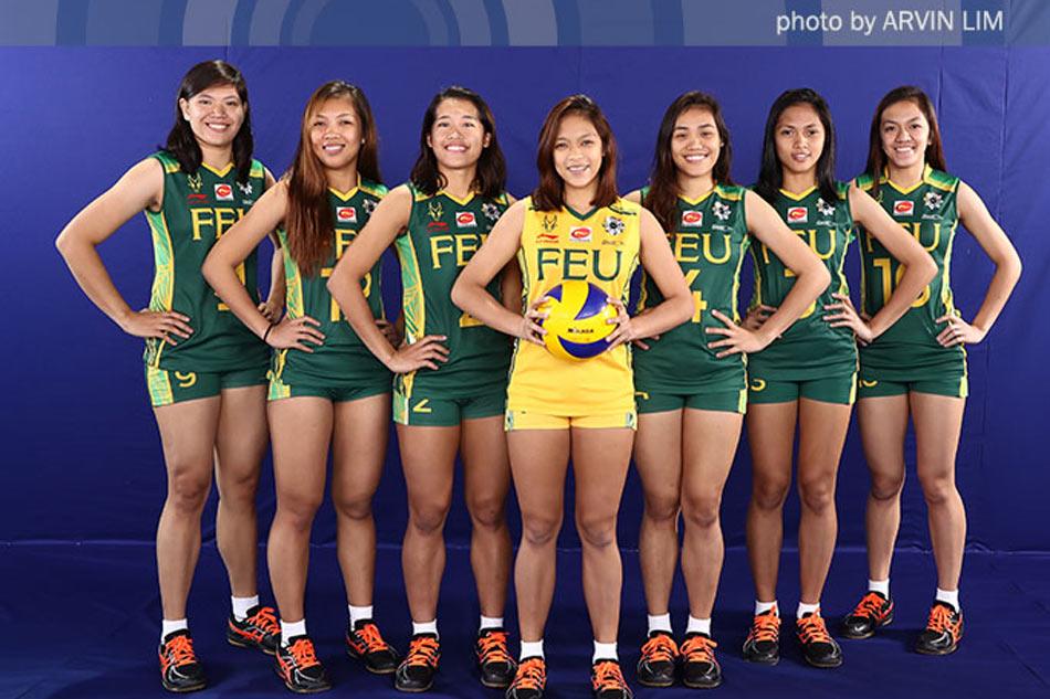Feu volleyball uniform