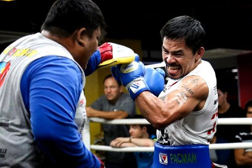'Pacquiao, nasa attack mode na'