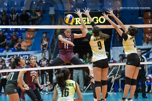 UP Lady Maroons, nangunguna sa UAAP Women's Volleyball