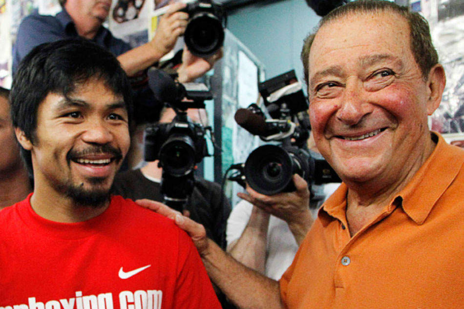 UFC chief Dana White warns Manny Pacquiao