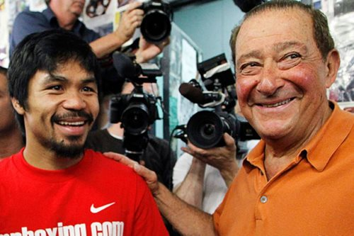 Arum says Manny Pacquiao could be next PH president