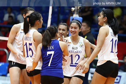 UAAP women's volleyball: Ateneo makes quick work of UE for 3rd straight win