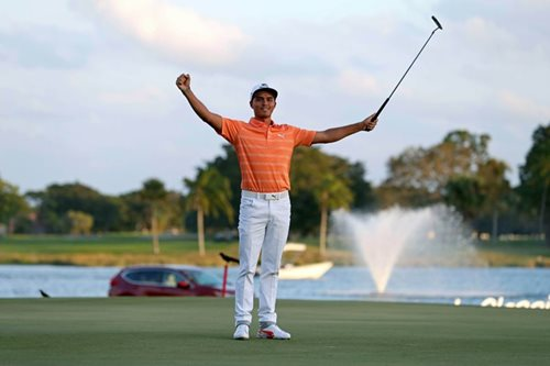 Fowler closes deal, wins Honda Classic by four strokes