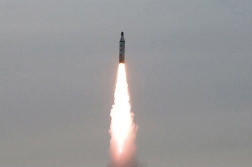 N.Korea fires four ballistic missiles into sea near Japan