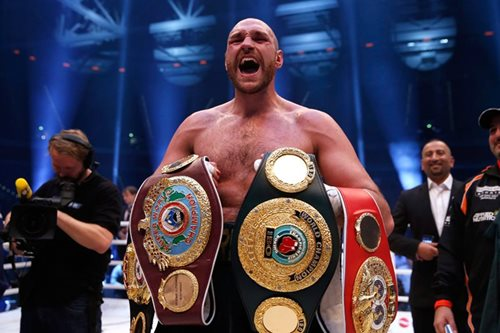 Boxing: Fury tells rivals to 'come to Tyson' after signing new ESPN deal