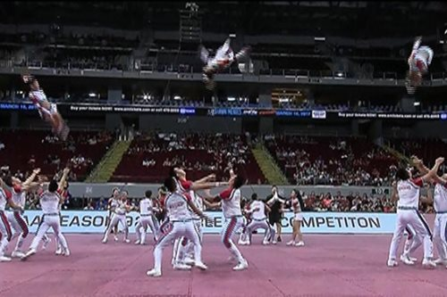 WATCH: EAC Pep Squad shows some swag