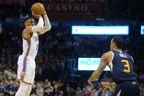 Westbrook torches Jazz for 32nd triple double