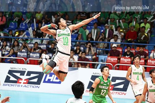 De Guzman, Mojica banner men's national volleyball team