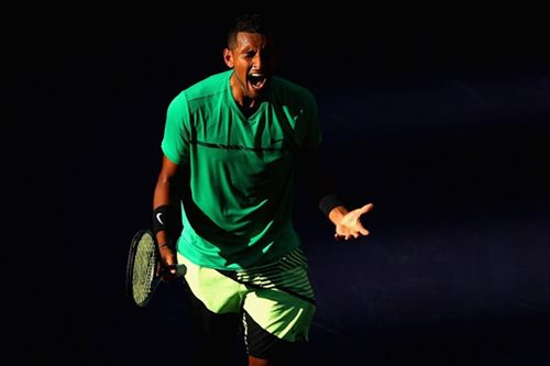 Kyrgios topples defending champ Djokovic at Indian Wells