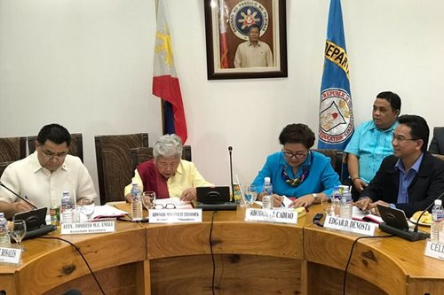 DepEd, Antique sign MOA for Palarong Pambansa