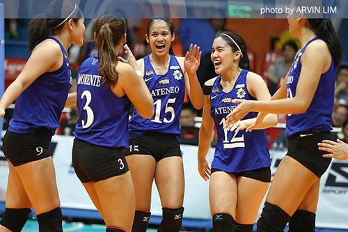 UAAP volleyball: Ateneo survives FEU rally to pull off gutsy 5-set win