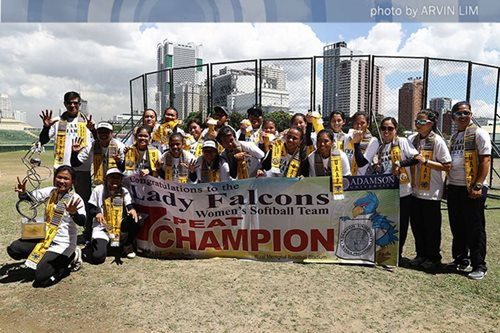 Softball: Adamson annexes 7th straight UAAP crown