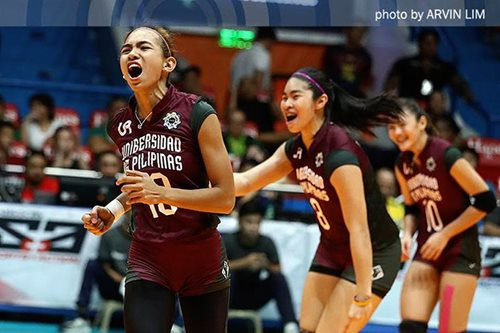 UAAP volleyball: Playoff berths at stake as UP, NU women collide