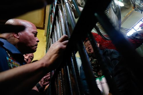 'Bato' warns cop caught in 'shabu session'