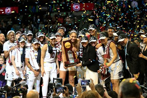 South Carolina hang on for women's collegiate crown