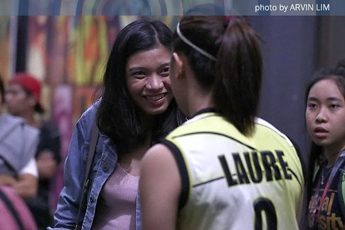 Alyssa hails UST's Laure for showing toughness after injury