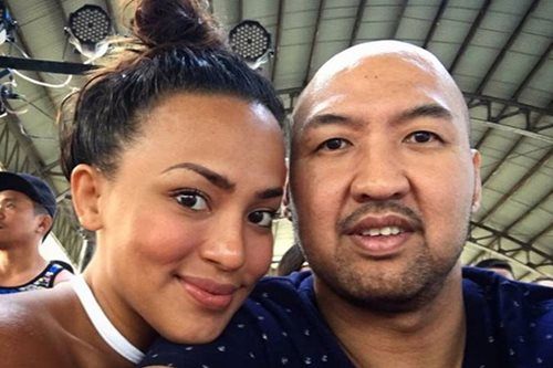 PBA champion Jeffrey Cariaso, sportscaster Erika Padilla engaged
