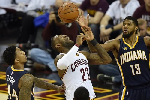 Cavaliers escape with win over Pacers in playoff opener