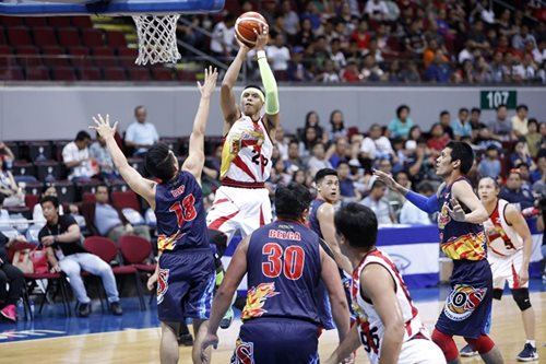 PBA: San Miguel pummels Rain Or Shine for 5th straight win