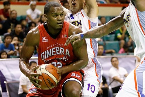 PBA: Ginebra tackles TNT in battle between 2 teams on a roll