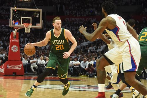 Hayward leads Jazz to win, 3-2 series lead on Clippers