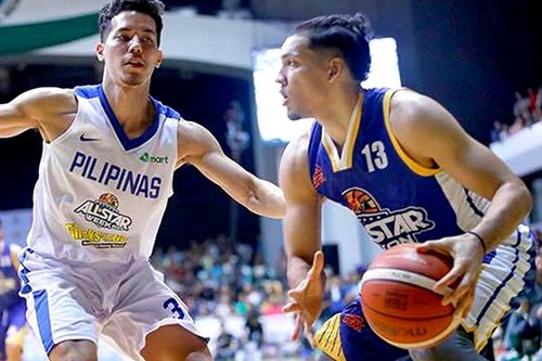 Youthful Gilas passes character test in win over PBA all-stars