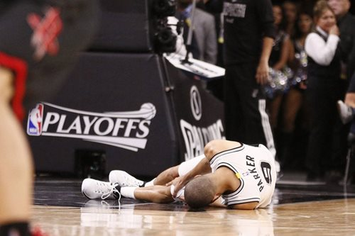 NBA: Parker injured as Spurs level series with Rockets