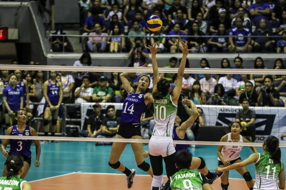 IN PHOTOS: La Salle defends volleyball crown against ...