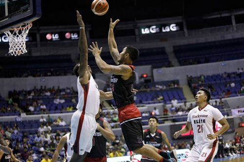 PBA: Mahindra outlasts Blackwater for second win