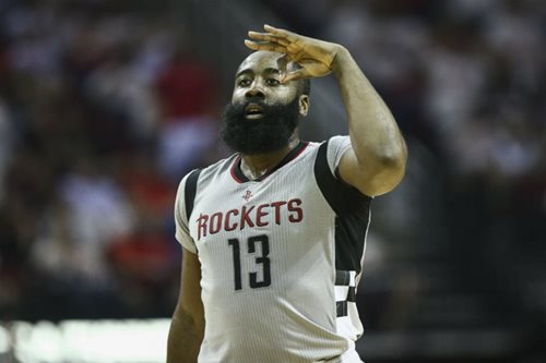 Rockets cruise past Spurs to tie series at 2-2