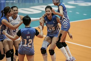 Pocari-Air Force tiff highlights PVL on Tour in Sta. Rosa
