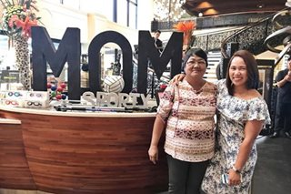 How Hidilyn Diaz surprised mom on Mother's Day