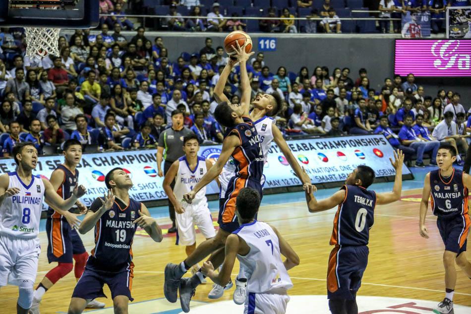Batang Gilas wins SEABA under 16 title