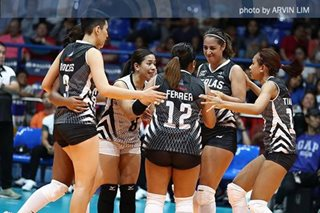 PVL Import-less Spikers repeat over Jet Spikers