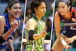 SLIDESHOW: Meet the 18 players vying for spots on PH women's volleyball team