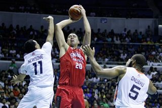 Ginebra to put Slaughter in active roster for playoffs