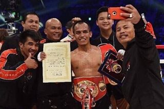 WATCH: New champ Milan Melindo gets hero's welcome in Cebu
