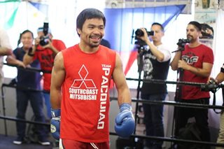 Boxing: Pacquiao completely focused on Adrien Broner