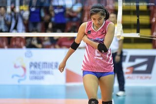 Fatigue, inconsistency caught up with Creamline, says Alyssa
