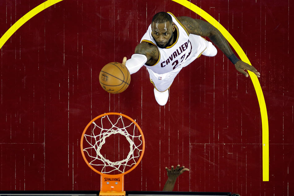 Cleveland Cavaliers set NBA Finals record for most points in a quarter