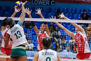 Superliga: Cignal outlasts Sta. Lucia in five-set thriller