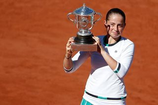 Tennis: Ostapenko makes history with stunning French Open triumph